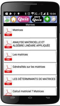 Cours  d'Algèbre Linéaire screenshot 3