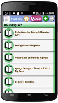 Cours du BigData poster