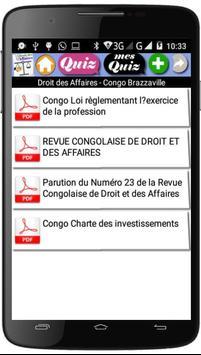 Droit des Affaires screenshot 1