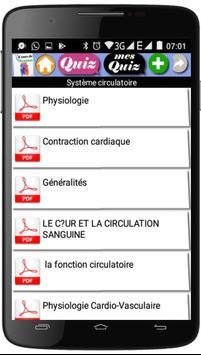Cours de Physiologie screenshot 1
