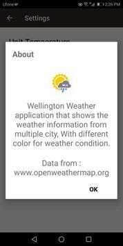Wellington Weather Forecast screenshot 3