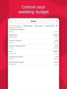 Wedding Planner: Checklist, Budget, Countdown screenshot 10