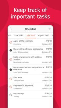 Wedding Planner: Checklist, Budget, Countdown screenshot 1