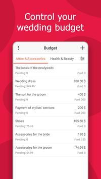 Wedding Planner: Checklist, Budget, Countdown screenshot 2
