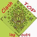 CLash Top Layouts APK