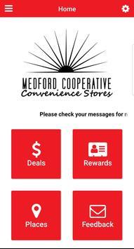Medford Cooperative poster
