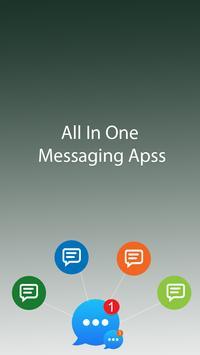 Hi Messenger : message ,chats , video calls free poster