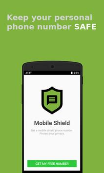 Anonymous & Secure Texting - Mobile Shield poster