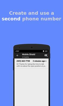 Anonymous & Secure Texting - Mobile Shield screenshot 1