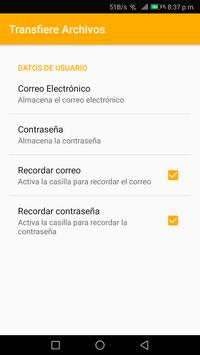 Transfiere Archivos screenshot 2