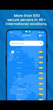 VPN Gratuit illimite pour Android - Proxy VPN 2021 capture d'écran 5