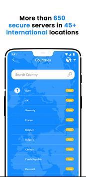 VPN Wolny - Bezpieczny VPN Bez Limitów screenshot 5