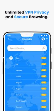 VPN Wolny - Bezpieczny VPN Bez Limitów screenshot 13