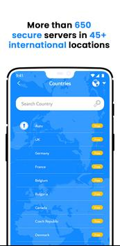 VPN Wolny - Bezpieczny VPN Bez Limitów screenshot 11