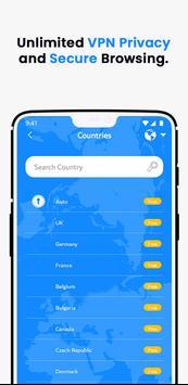 VPN Wolny - Bezpieczny VPN Bez Limitów screenshot 1