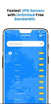 VPN Wolny - Bezpieczny VPN Bez Limitów screenshot 3