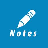 مذكرة ملاحظات المفكرة أيقونة
