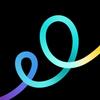 Icona GoDaddy Studio: strumento di disegno grafico