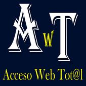 Acceso web total icon