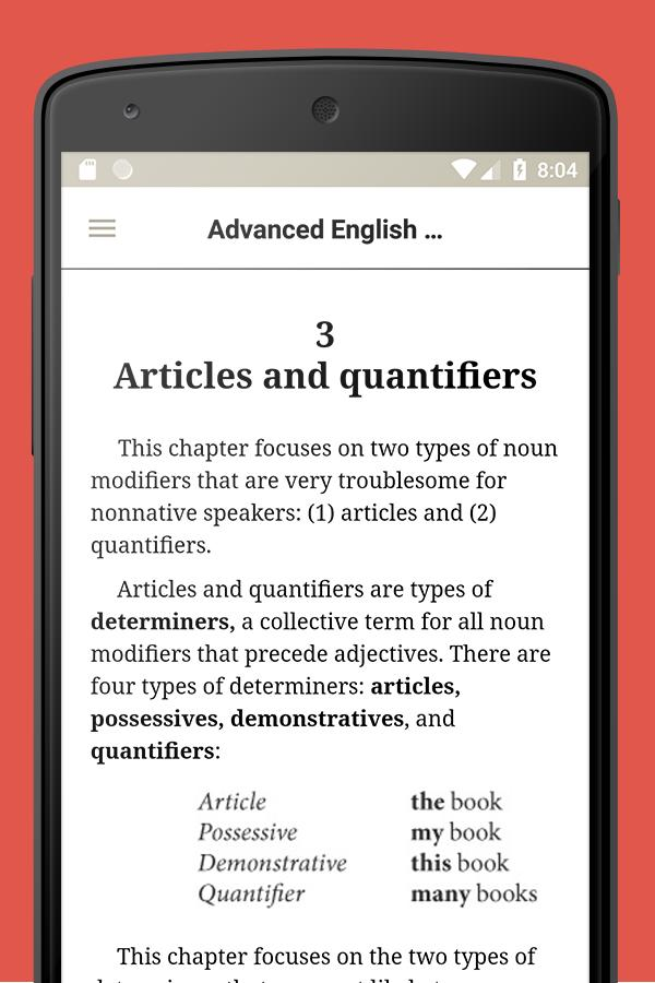 English textbook for Android - APK Download