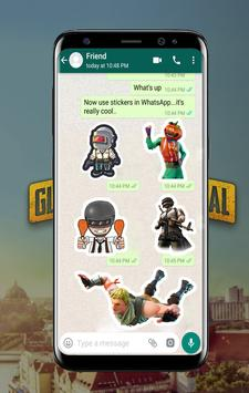 Battle Royale Stickers For WhatsApp poster