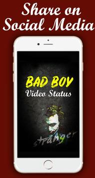 Latest Bad Boy Video Status screenshot 3