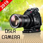 DSLR HD Zoom Camera 2019 icon