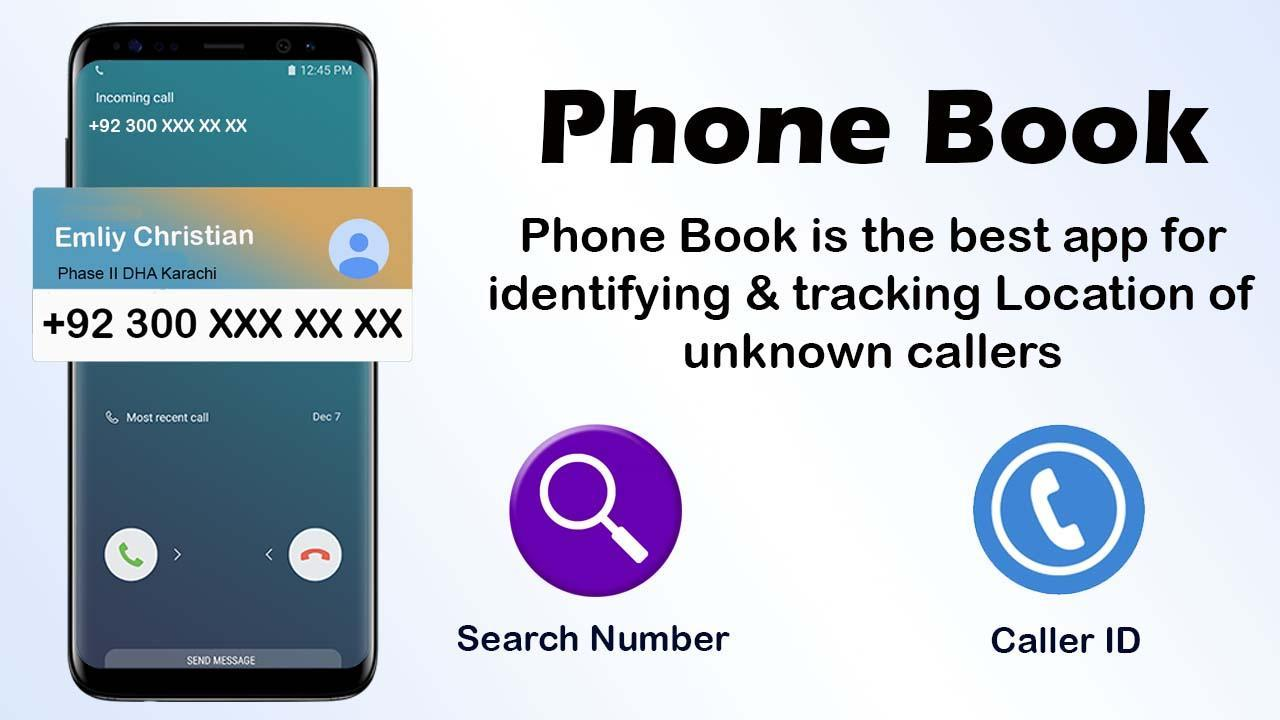 PhoneBook - Caller ID & Number Locator for Android - APK Download