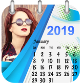 Calendar Photo Frame 2019 icon