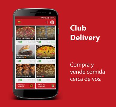 ClubDelivery Poster