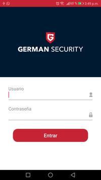 German Alert poster