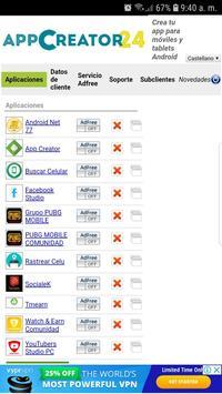 Creador de Aplicaciones screenshot 5