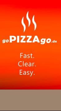 goPIZZAgo - Order Food poster