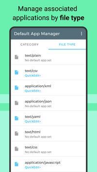 Default App Manager screenshot 1