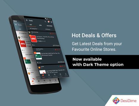 DesiDime - Online Deals & Coupons poster