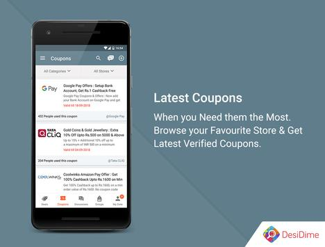 DesiDime - Online Deals & Coupons screenshot 2