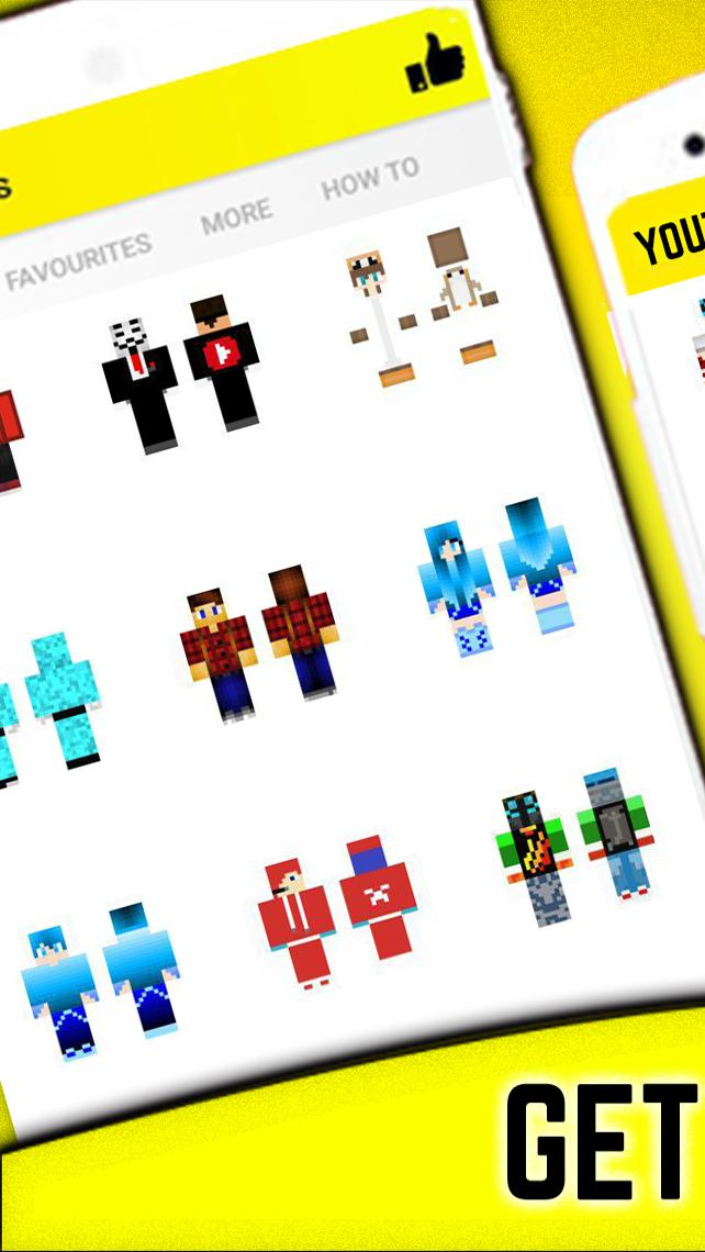 Youtubers Skins For Android Apk Download