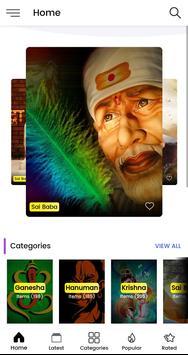 Sai Baba HD Wallpaper poster