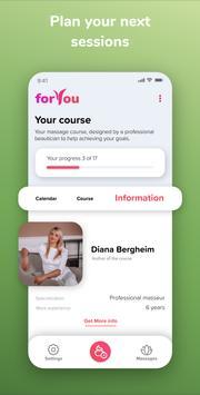 Face Massage App. Facial Skincare Routine ForYou screenshot 4