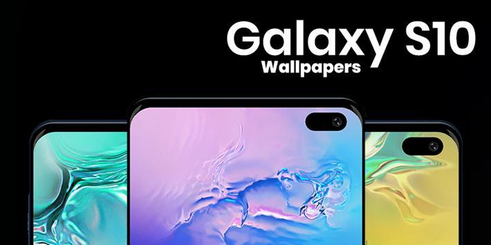 Galaxy S10 Wallpaper poster