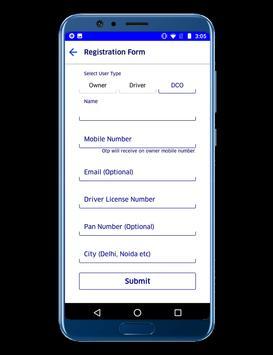 GloAD Registration Request screenshot 1