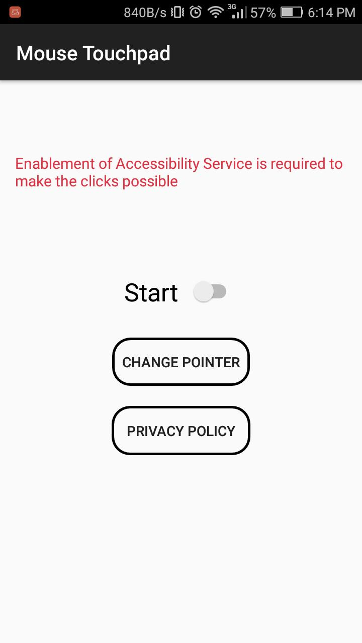 Reachability Cursor-Mouse for big phone for Android - APK