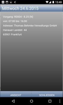 mobile Zeiterfassung screenshot 1