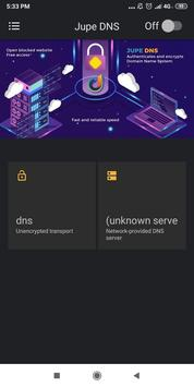 Jupe DNS | Free - Unlimited poster