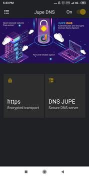 Jupe DNS | Free - Unlimited screenshot 2