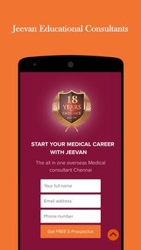 Jeevan Edu Consultants, MBBS ADMISSIONS ABROAD poster