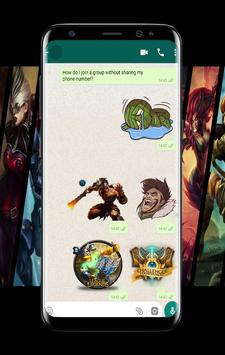 League Stickers Legende For WhatsApp poster