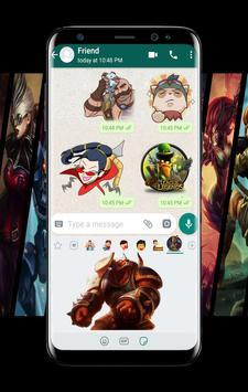 League Stickers Legende For WhatsApp screenshot 2