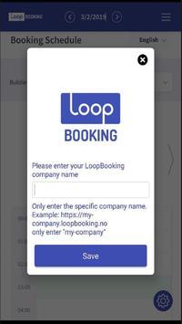 LoopBooking poster