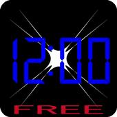 Clock emergency light(free) icon